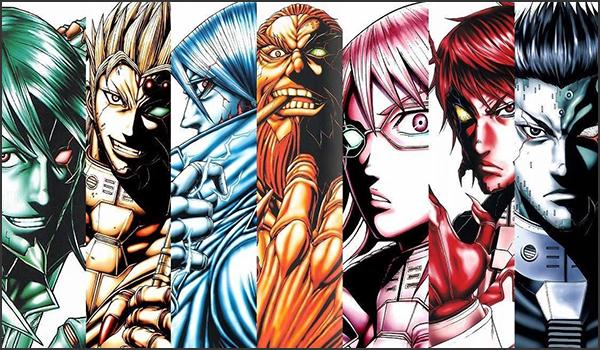 Terra Formars - Terra Formars | Manga | 212/??? | Mega