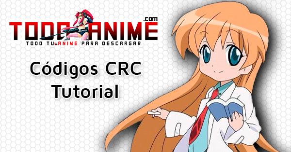 codigo crc - Tutoriales