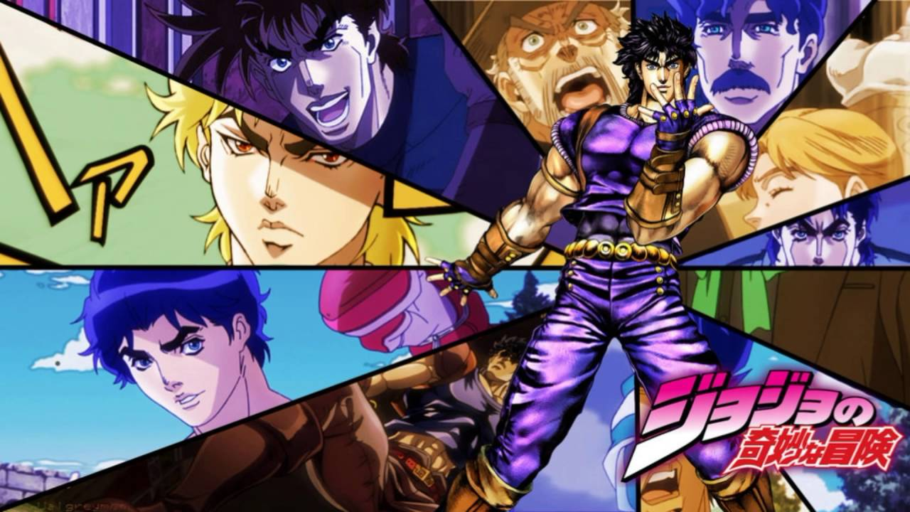 Jojo Bizarre Adventure The Animation