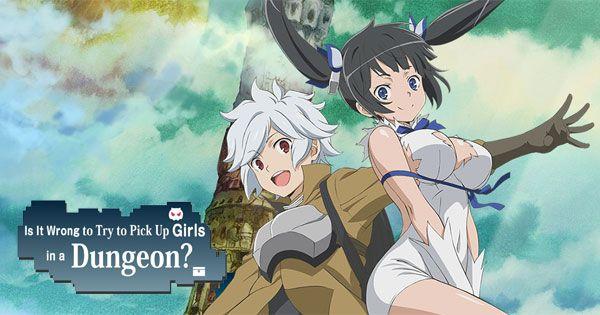 Ver Online Dungeon ni Deai wo Motomeru no wa Machigatteiru Darou ka