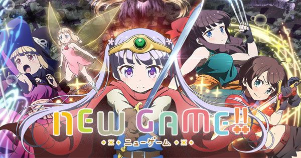 New Game - New Game! | Sub Español | HD 720p | Mega / Uptobox / 1Fichier
