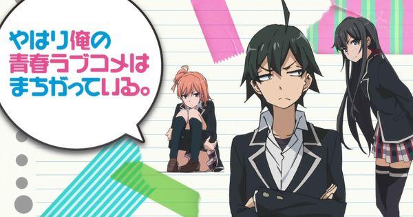 Ver Online Yahari Ore no Seishun Love Comedy wa Machigatteiru