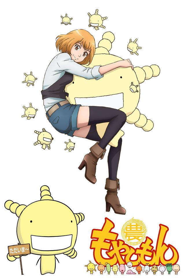 Moyashimon mejores anime de comedia